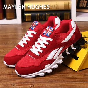 comfortable mesh fashion adult men shoes