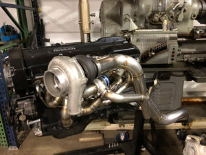 RB2x Forward Mounted Turbo Manifold