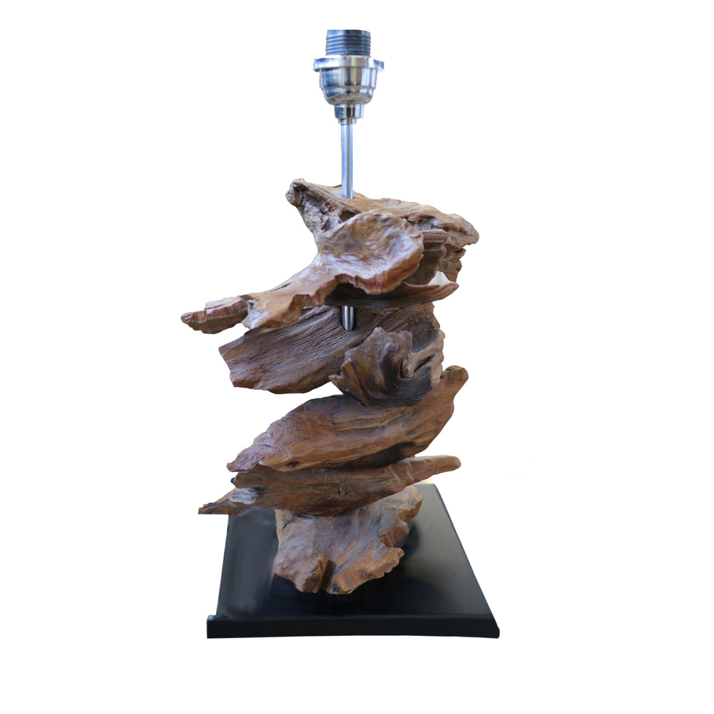 Tall Logs Base Lamp