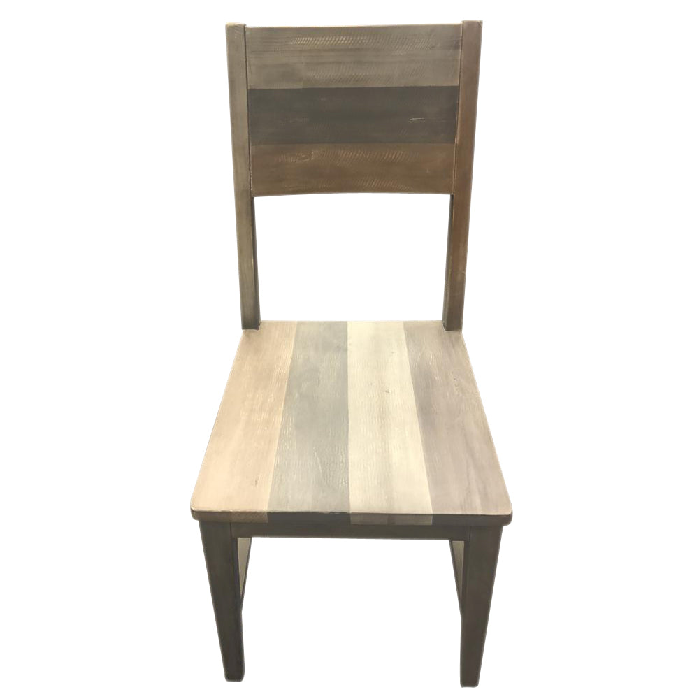 Multi-tone Reclaimed Wood Dining Chair