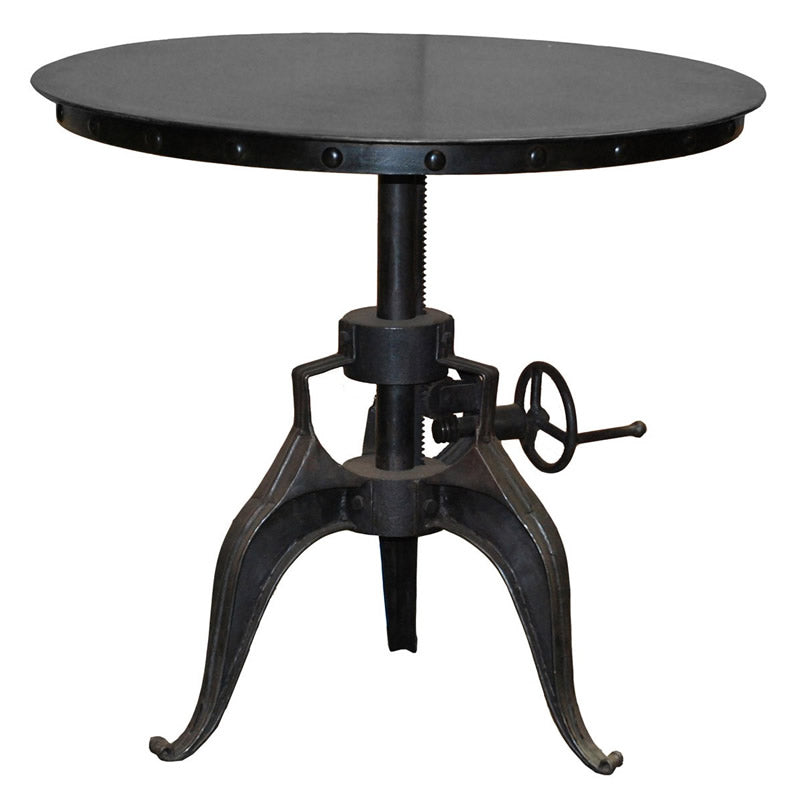 "Eisen Crank Table 30"" Black"