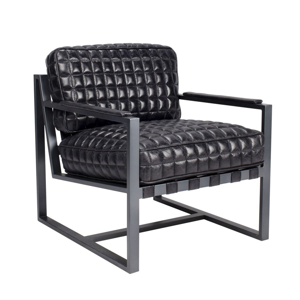Melanie Club Chair Black