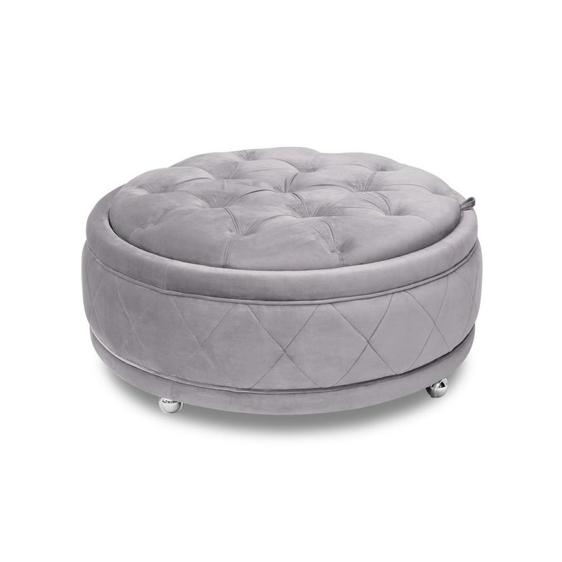 Jackson Ottoman Rectangle - Beige