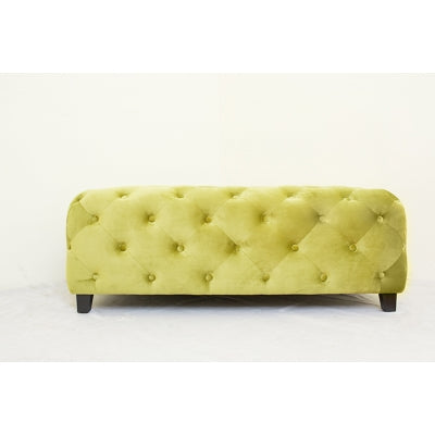 Jackson Ottoman Square - Orange