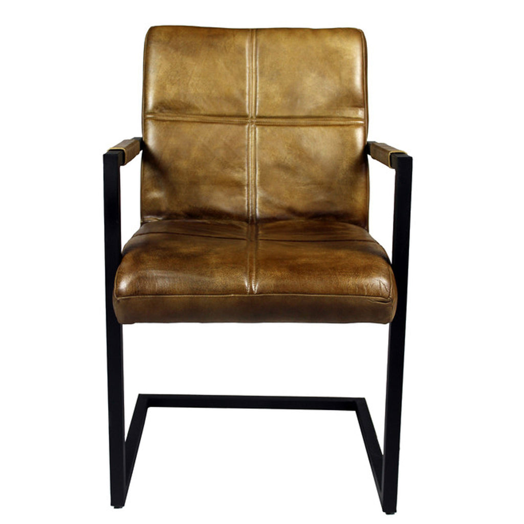 Clayton Arm Chair - Chestnut