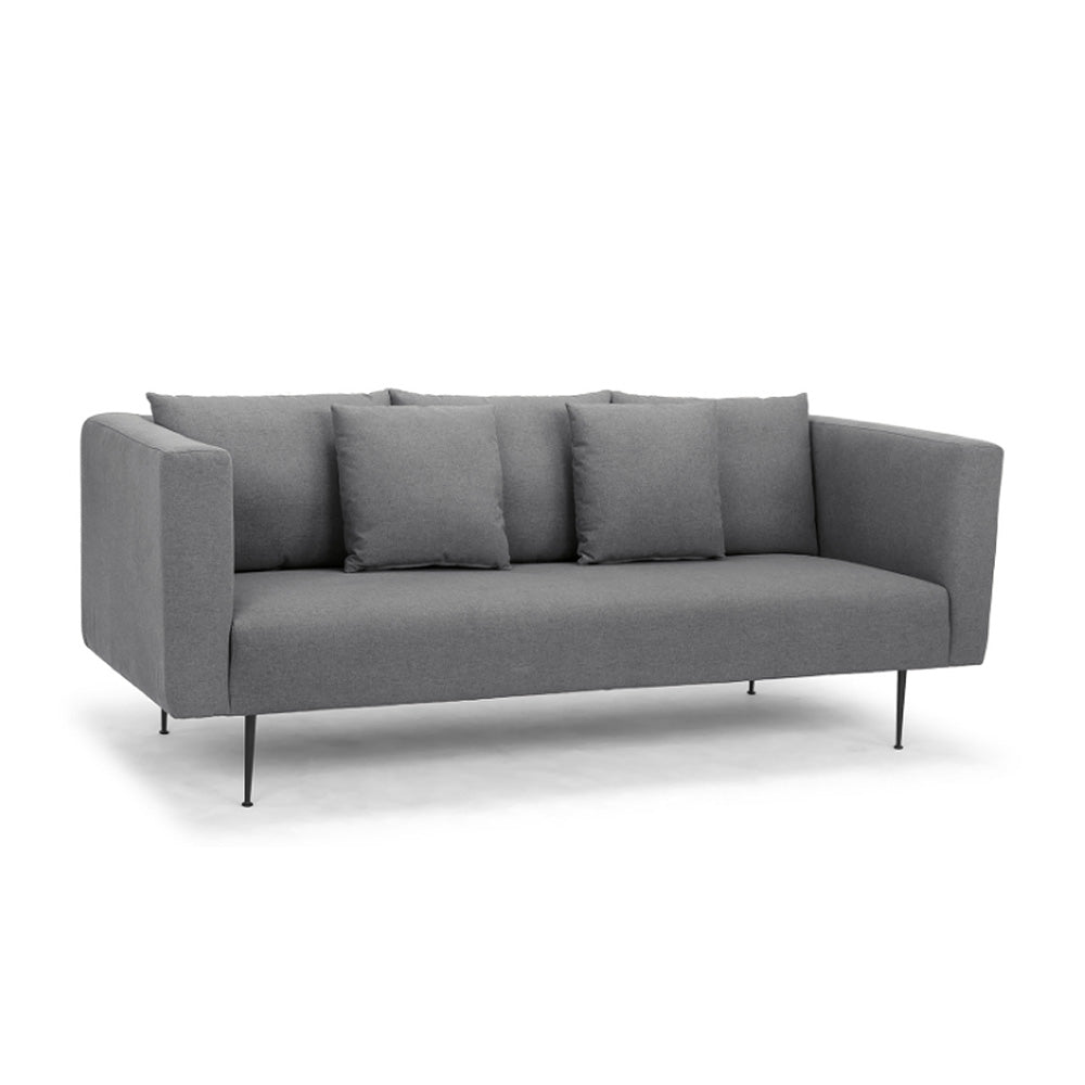 HAROLD 3-SEATER SOFA-  DARK GR
