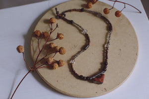 ~ artisan stone necklace ~