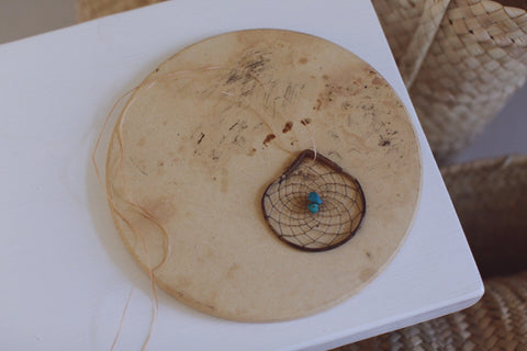 ~ navajo dreamcatcher necklace ~