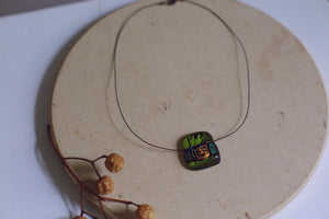 ~ artisan art necklace ~