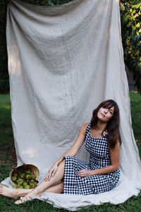 medium checkered dress