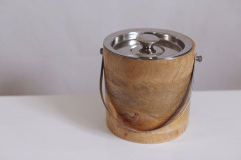 ~ wooden ice bucket ~