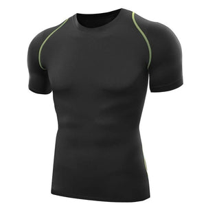 Quick Dry Fitted Compression Tee