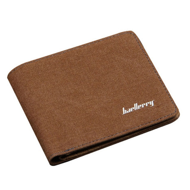 Baellerry Casual Leather Business Wallet