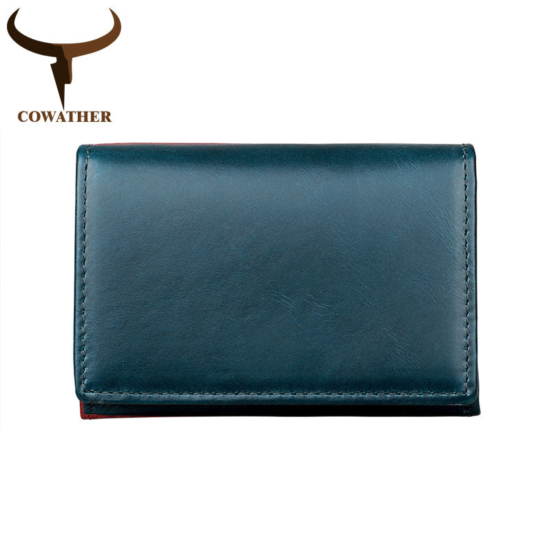 Playful RFID 100% Genuine Leather Wallet