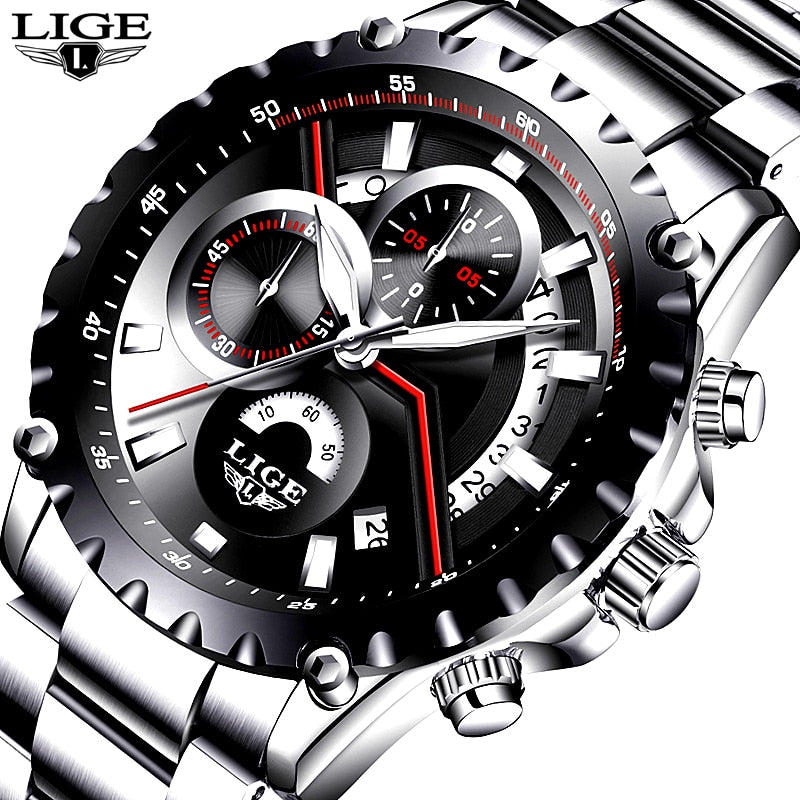 LIGE Fashion Sport Watch