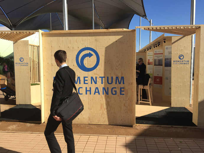 COP22 Marrakech, Morocco: UNFCCC – Momentum for Change