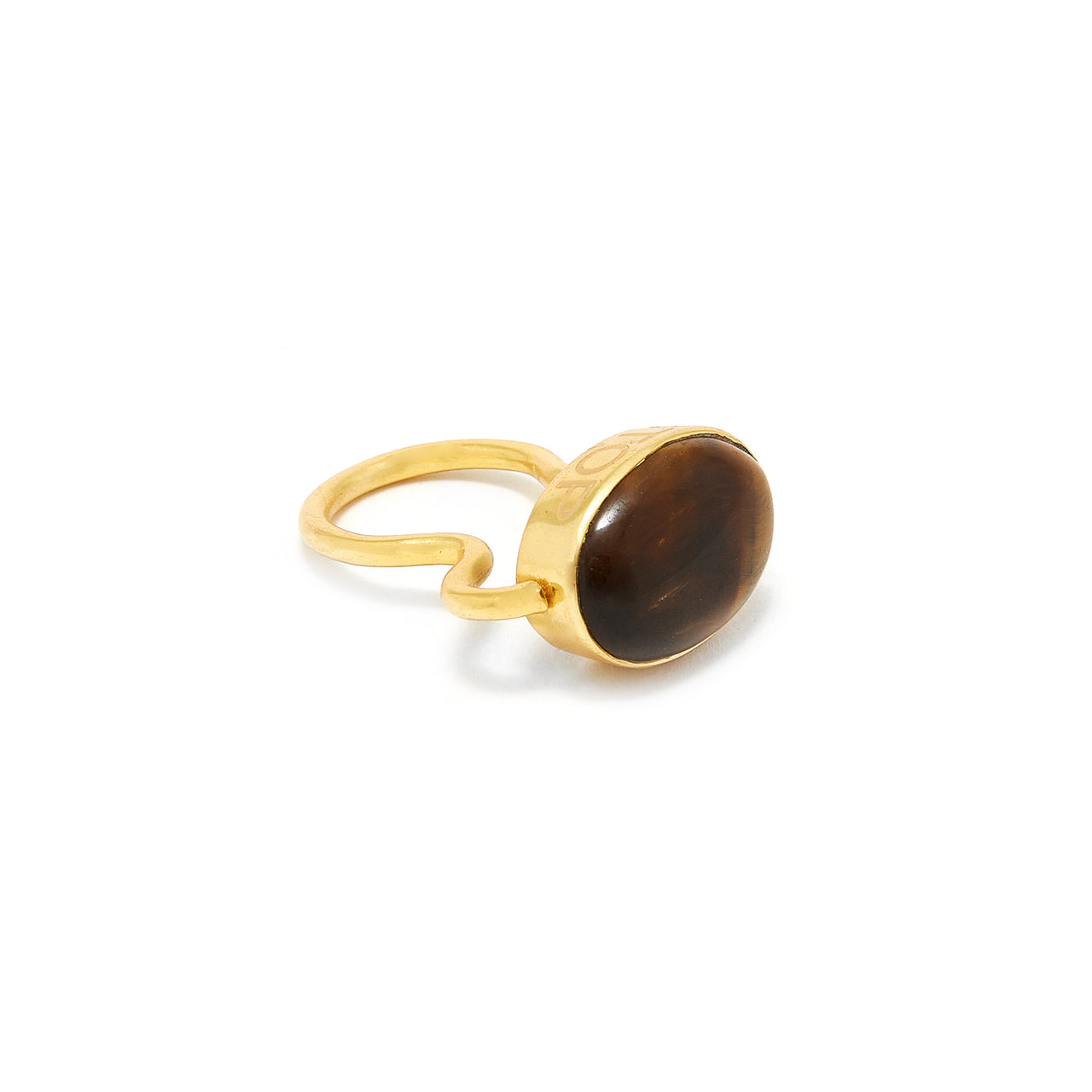 Tigers Eye Mogul Ring-Ring-Jaipur Atelier