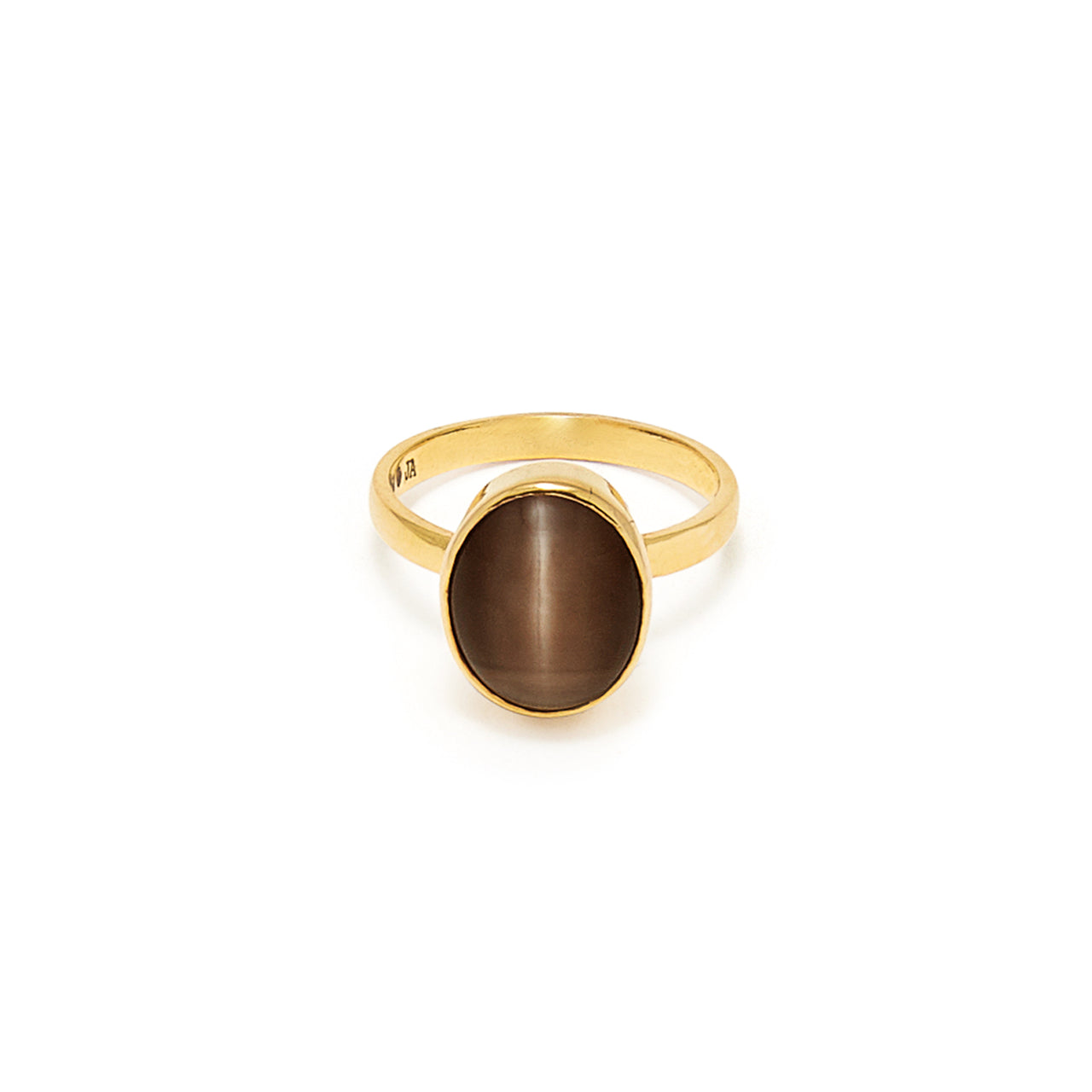 Cats Eye Navratan Astrology Gold Ring-Ring-Jaipur Atelier