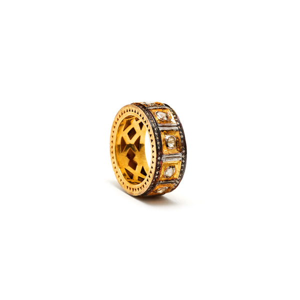 Royal Family Rock Royalty Diamond Ring-Ring-Jaipur Atelier