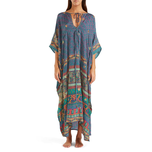 The Shannon Silk Kaftan 1