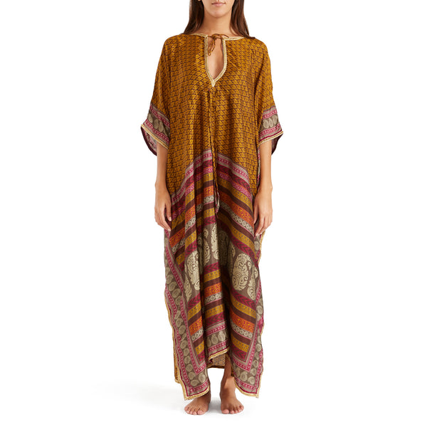 The Shannon Silk Kaftan 3