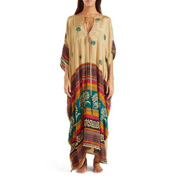 The Shannon  Silk Kaftan 4