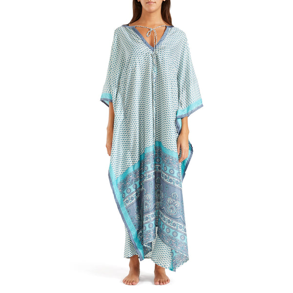 The Shannon Silk Kaftan 6