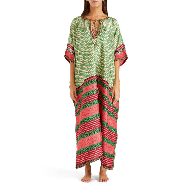 The Shannon  Silk Kaftan 8