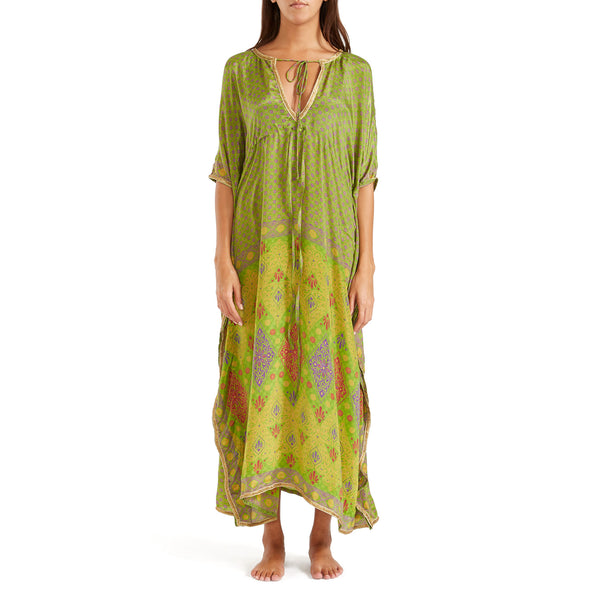 The Shannon Silk Kaftan 9