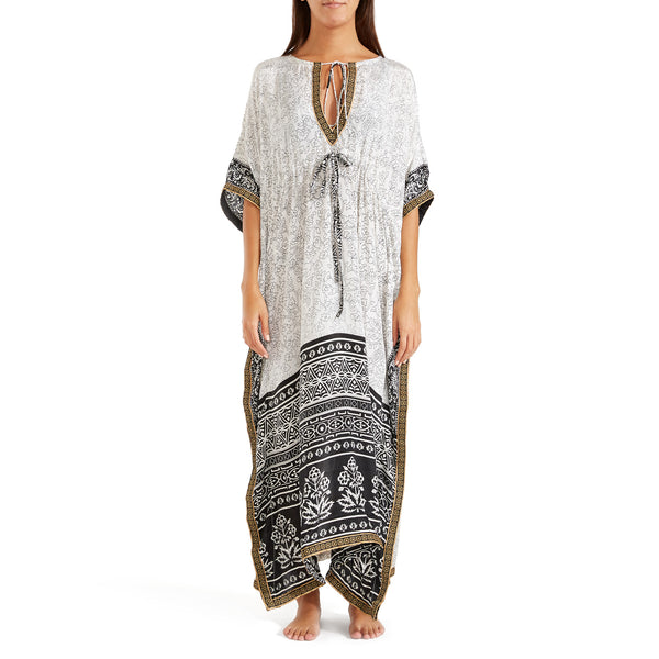 The Shannon Silk Kaftan 13