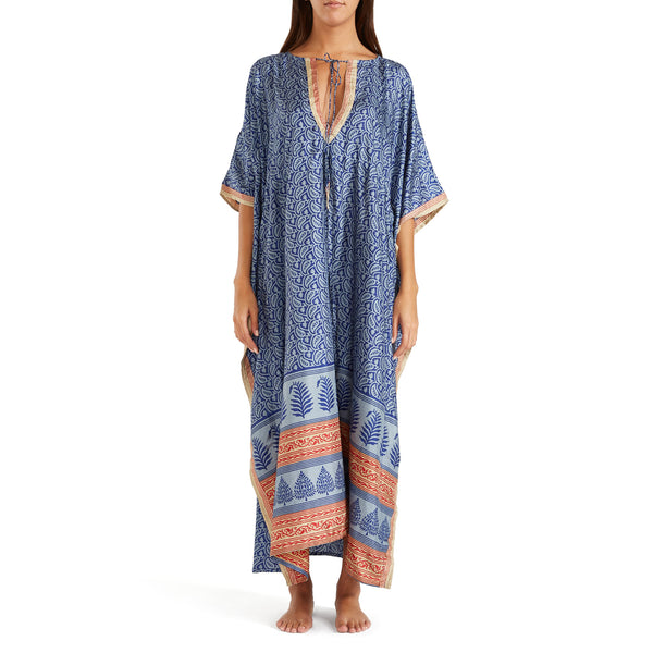 The Shannon Silk Kaftan 15