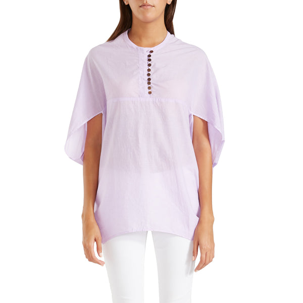 Antonia Cape Blouse – Lavender