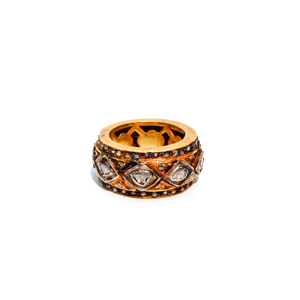 Rock N Roll Regal Diamond Mosaic Ring