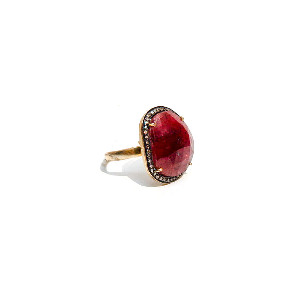 Earth Ruby Ring
