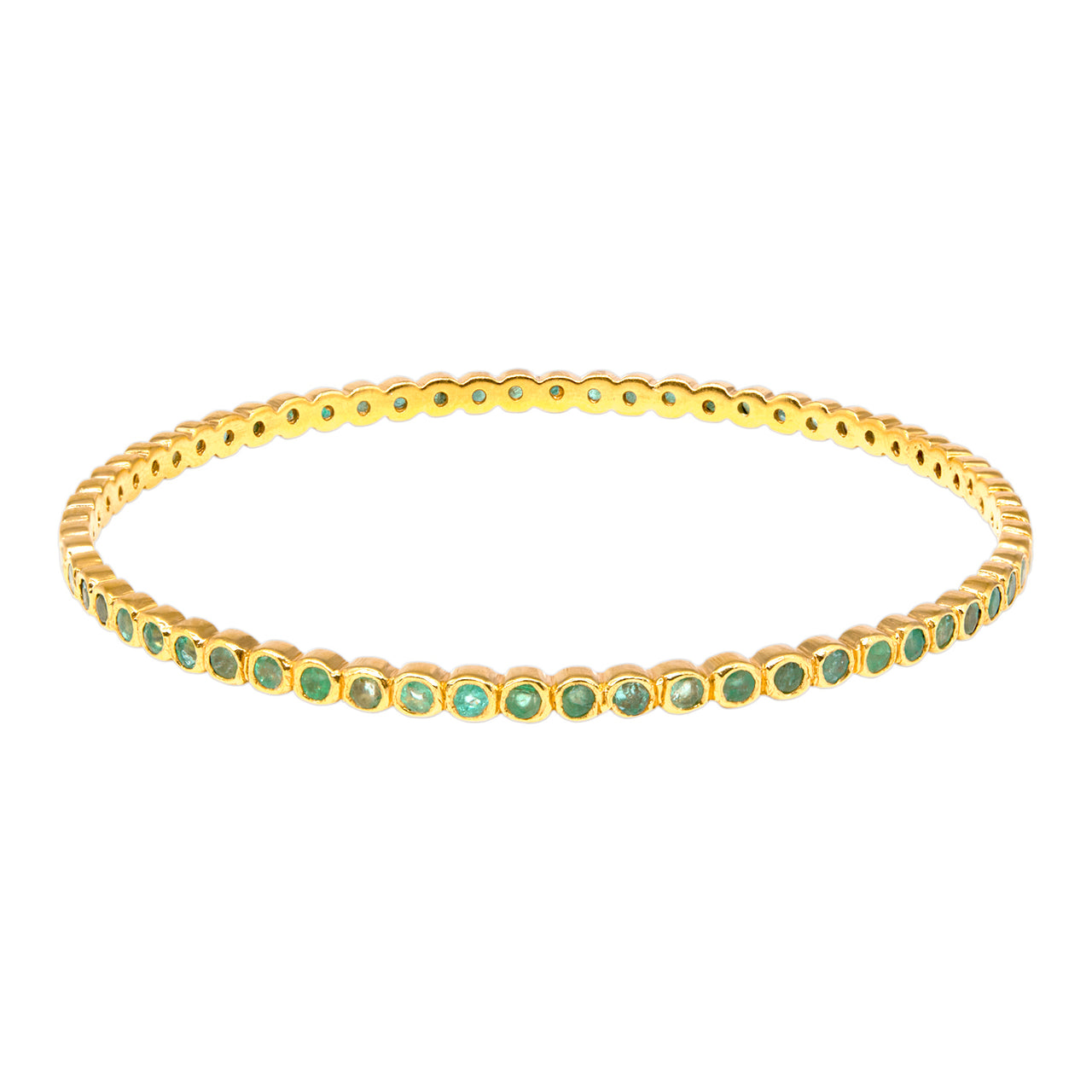 Emerald Cirque Bangle