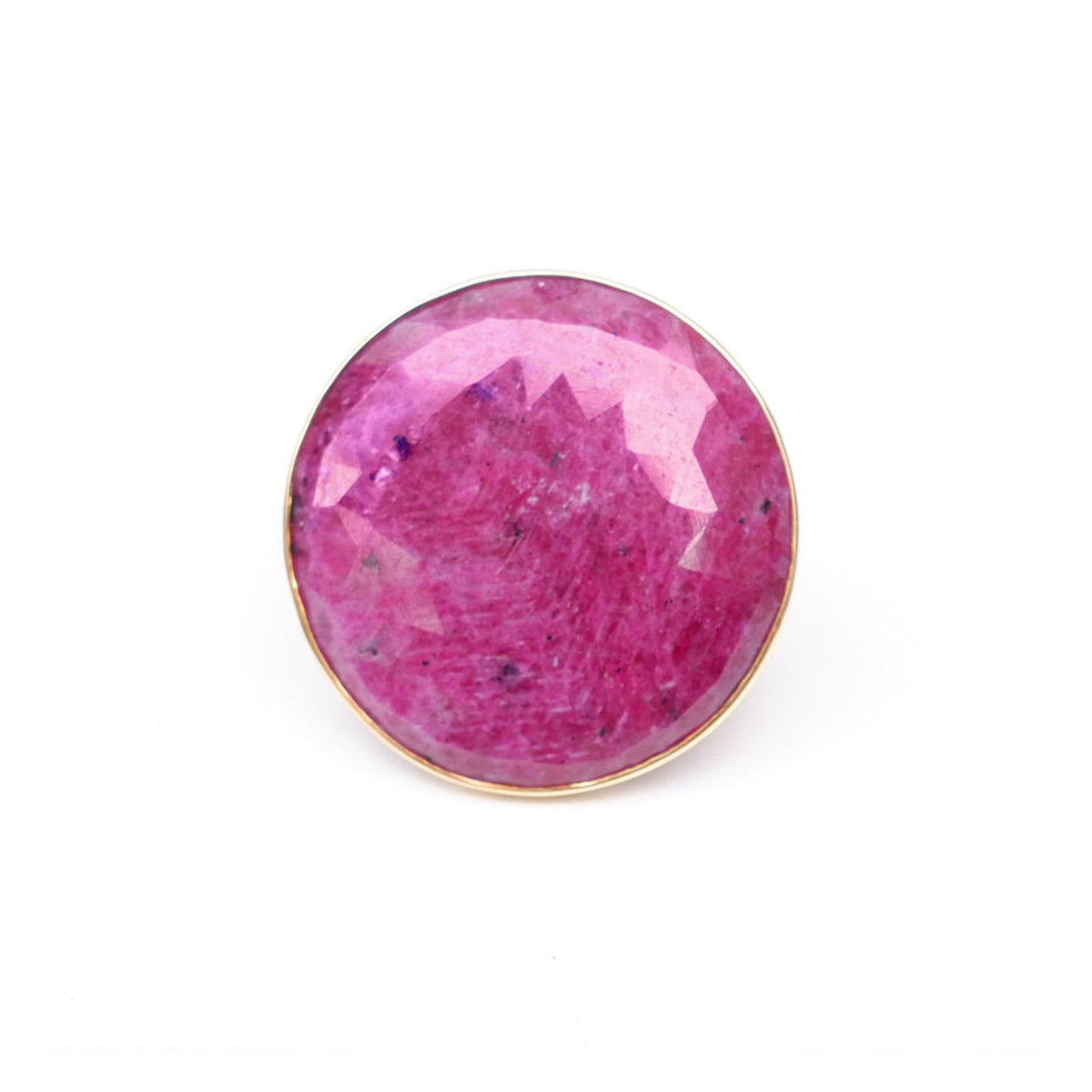 Ruby Dome Cocktail Ring