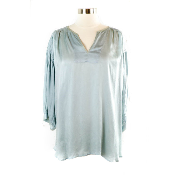 Manissa Silk Top – Ice