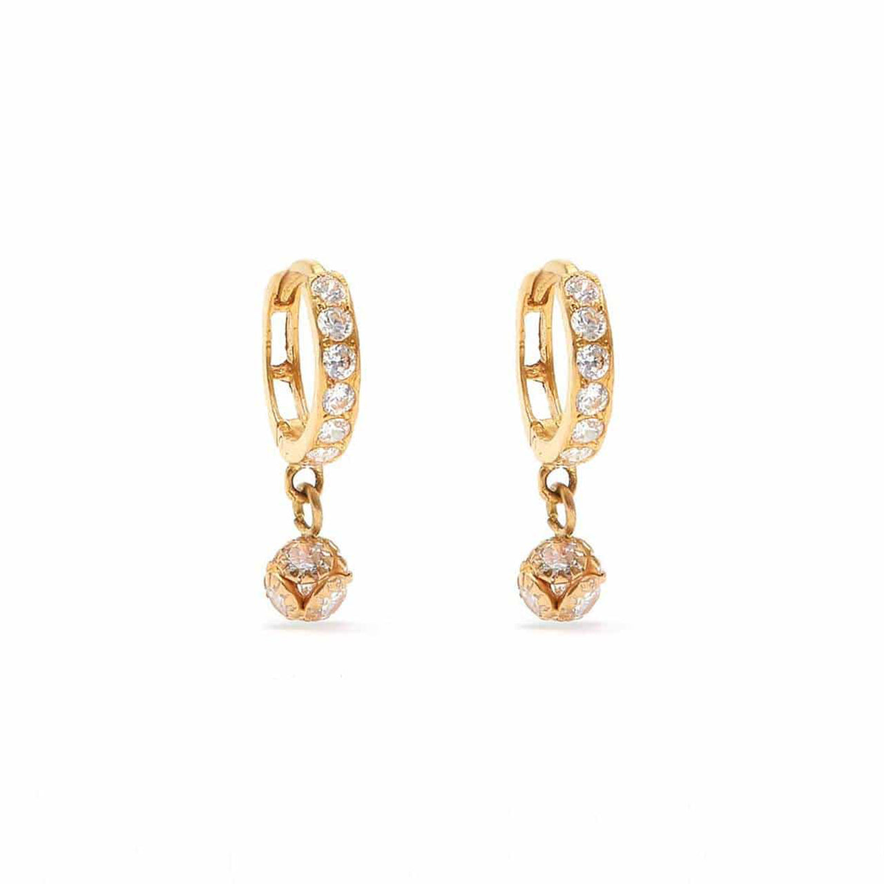 Sakshi Baby Bell Bauble Earrings