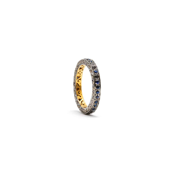 Jaipur Atelier Black and White Diamond Band