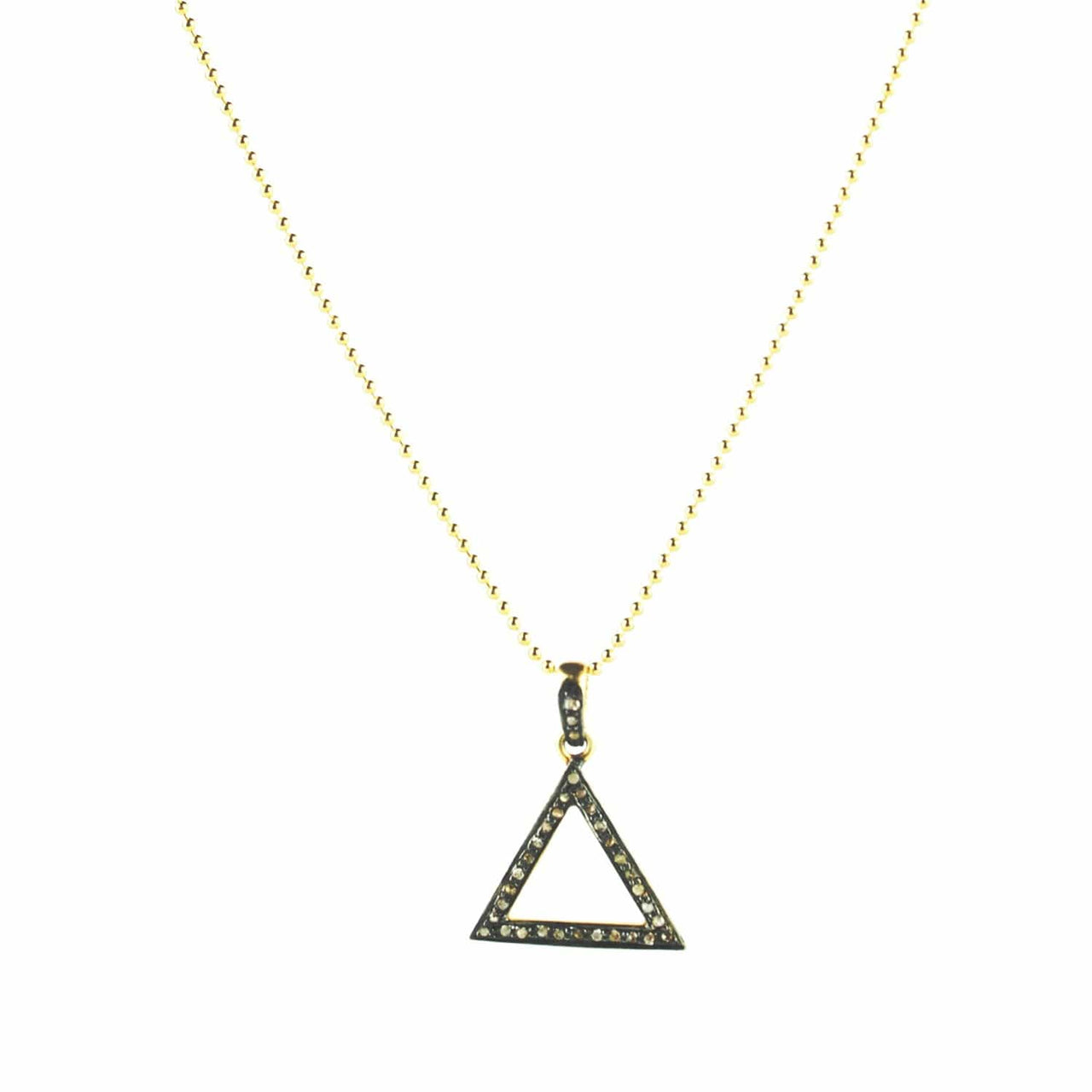 Jaipur Atelier Diamond Triage Pendant