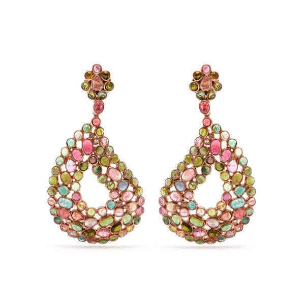 Jaipur Atelier Diaphanous Tourmaline Teardrop