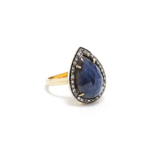 Earth Sapphire Ring