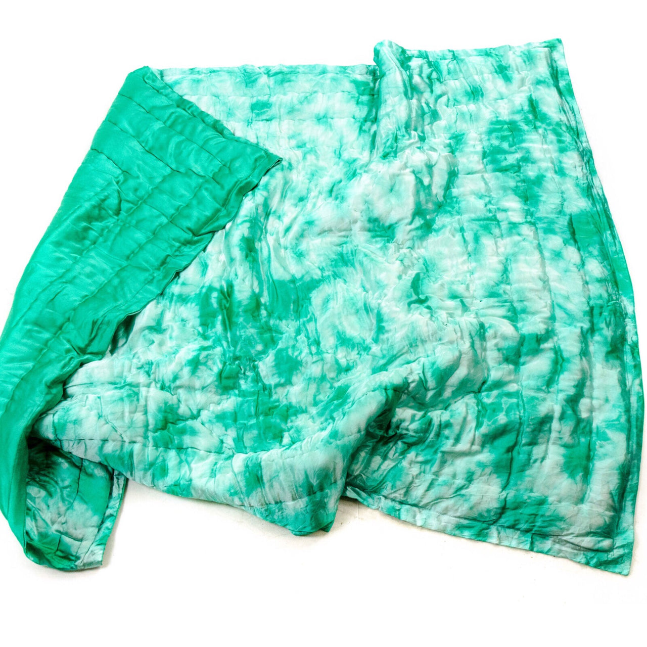 Jaipur Atelier Emerald Baby Quilt Throw