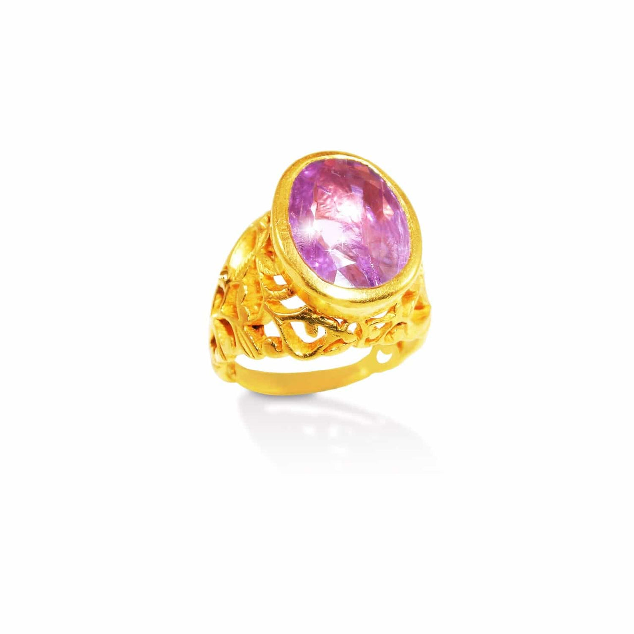 Jaipur Atelier Gia Certified Natural Ruby