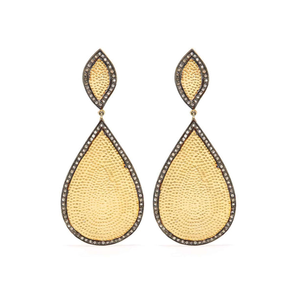 Mashrabiya Diamond Earrings