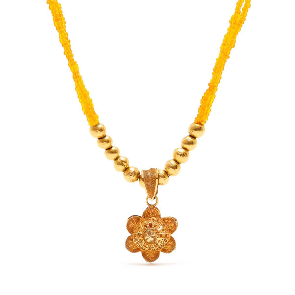 Jaipur Atelier Orange Filigree Flower