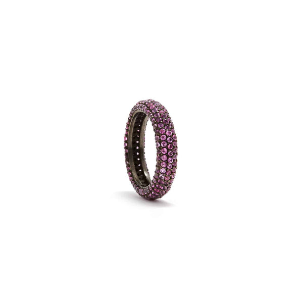 Jaipur Atelier Pink Sapphire Curvee' Band