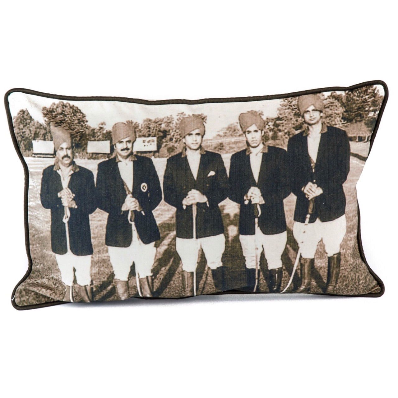 Jaipur Atelier Polo Player Imperial Accent Cushions