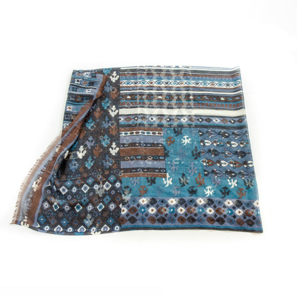 Cashmere & Bamboo Scarf 1 in Indian Silk Bag