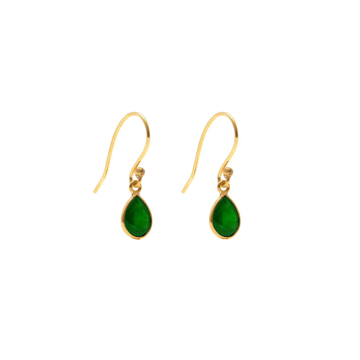 Emerald Envy One Earrings